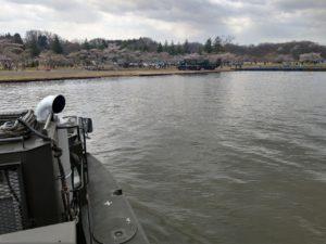 94式水際地雷敷設車からの景色