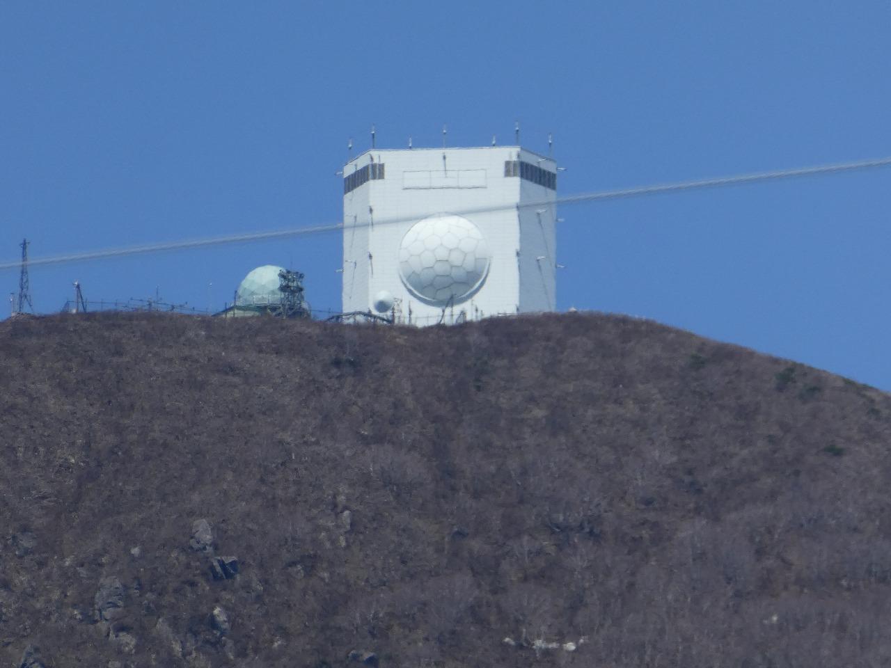 大湊分屯基地のガメラレーダー
