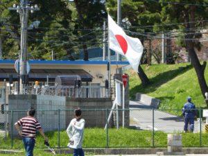 大湊基地のゲート