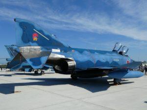 F-4ファントム洋上迷彩の後部