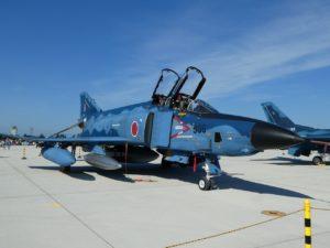 F-4ファントム洋上迷彩の前部