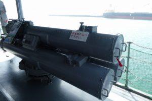 三連装魚雷発射管