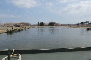 船岡駐屯地の訓練池