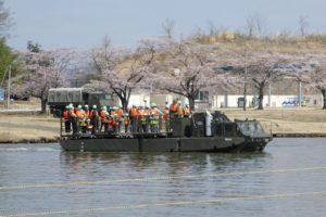 94式水際地雷敷設車の体験搭乗