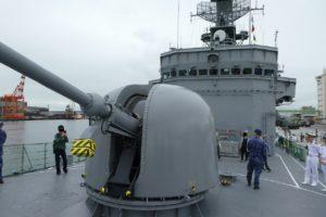 護衛艦ちくまの主砲