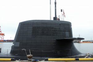 潜水艦せいりゅうの吸音タイル