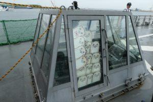 護衛艦すずつきのヘリ甲板