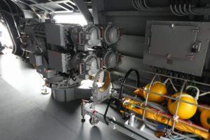 護衛艦すずつきの魚雷発射管