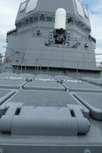 護衛艦すずつきのVLS