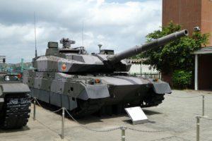 りっくんランドの10式戦車