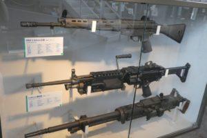 りっくんランドの銃展示
