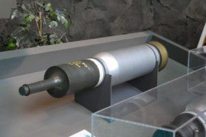 りっくんランドの戦車砲弾