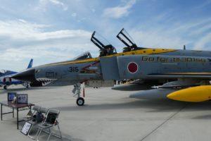 F-4ファントム退役記念塗装の側面