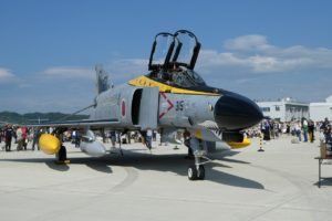 F-4ファントム退役記念塗装の前部