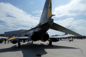 F-4ファントム退役記念塗装の後部
