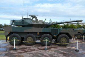16式機動戦闘車の側面