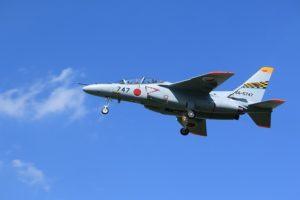 T-4練習機の着陸