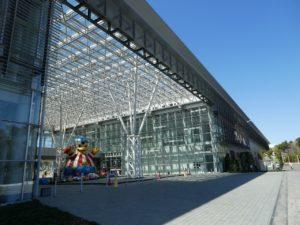 三沢航空科学館の入り口