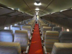YS-11の客席