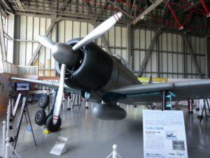 零戦21型の原寸大機