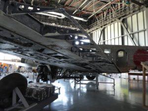 一式双発高等練習機の翼