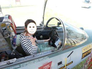 F-104Jスターファイターへ搭乗