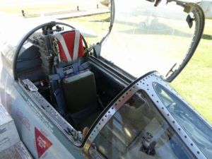 F-104Jスターファイターのコックピット