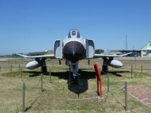 F-4EJ改ファントムⅡの前部