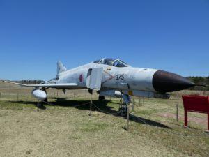 F-4EJ改ファントムⅡの右サイド