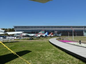 三沢航空科学館の青空広場
