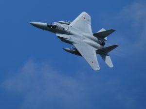 F-15Jのデモフライト