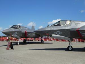 三沢基地航空祭のF-35