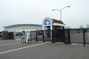松島基地の正門ゲート2